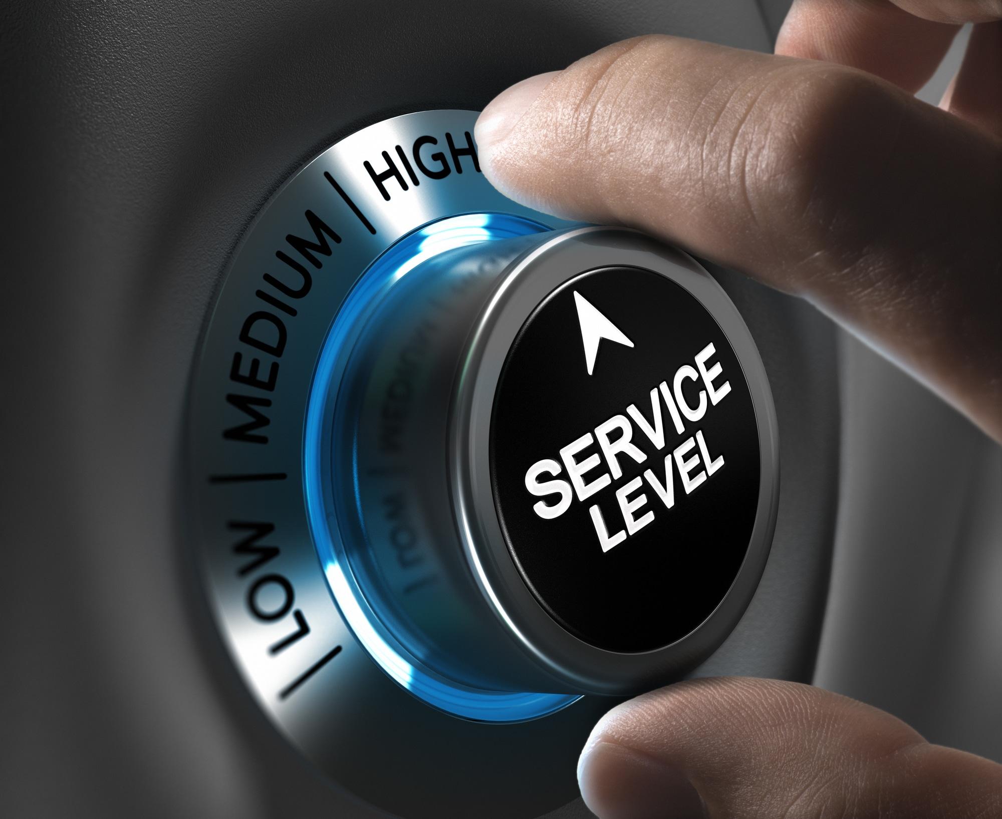Customer Service Satisfaction Level High